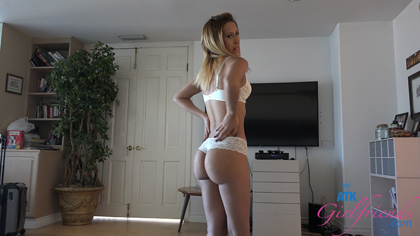 Are Ass cum on her clothes consider